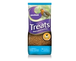 Peckish Treats Mealworms 500g