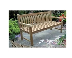 Rondeau Leisure Java Curved Back Bench