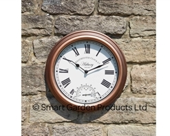 Astbury Wall Clock & Thermometer 12