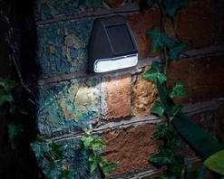 Smart Solar Fence, Wall & Post Light 4 Pack