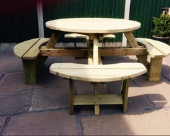 Westwood Round Picnic Table