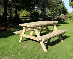 Deluxe A-Frame Picnic Table