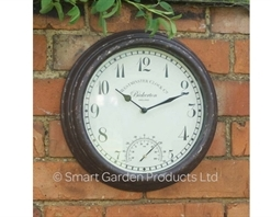 Bickerton Wall Clock & Thermometer 12