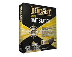 Deadfast Mouse Bait Station Twin Pack