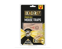 Deadfast Power Kill Mouse Twin Pack