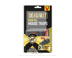 Deadfast Quick Kill Mouse Twin Pack