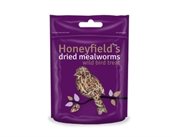 Honeyfields Dried Mealworms 100g