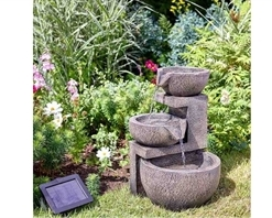 Smart Solar Genoa Cascade Water Feature