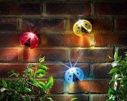 Smart Solar Lady Bug Light